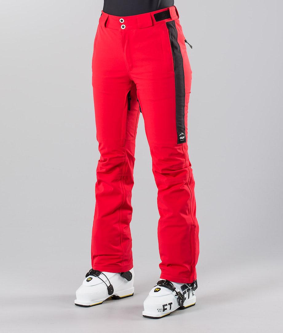 Dope Con 18 Pantalon de Ski Red