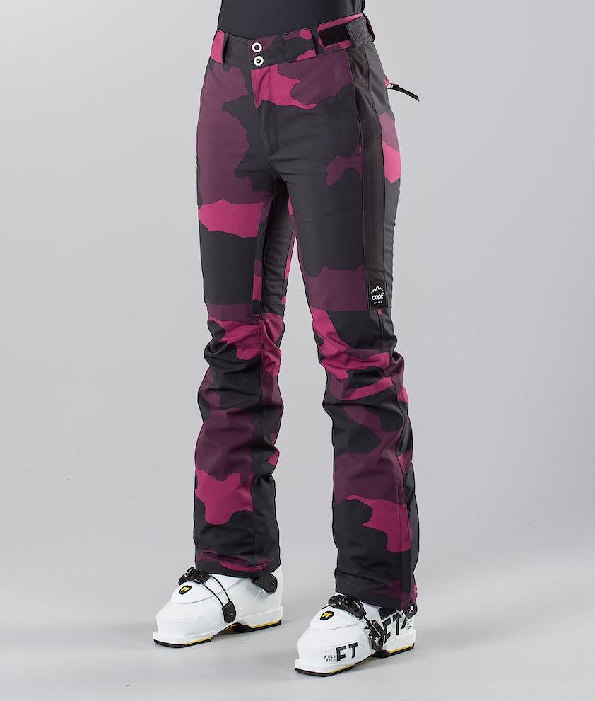 Dope Con 18 Ski Pants Purple Camo