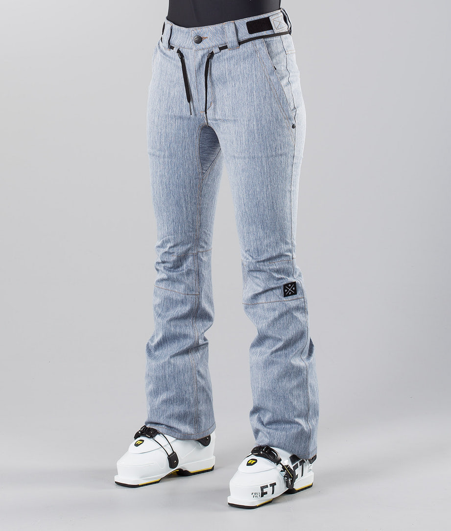 Dope Tigress 18 Ski Pants Blue Denim