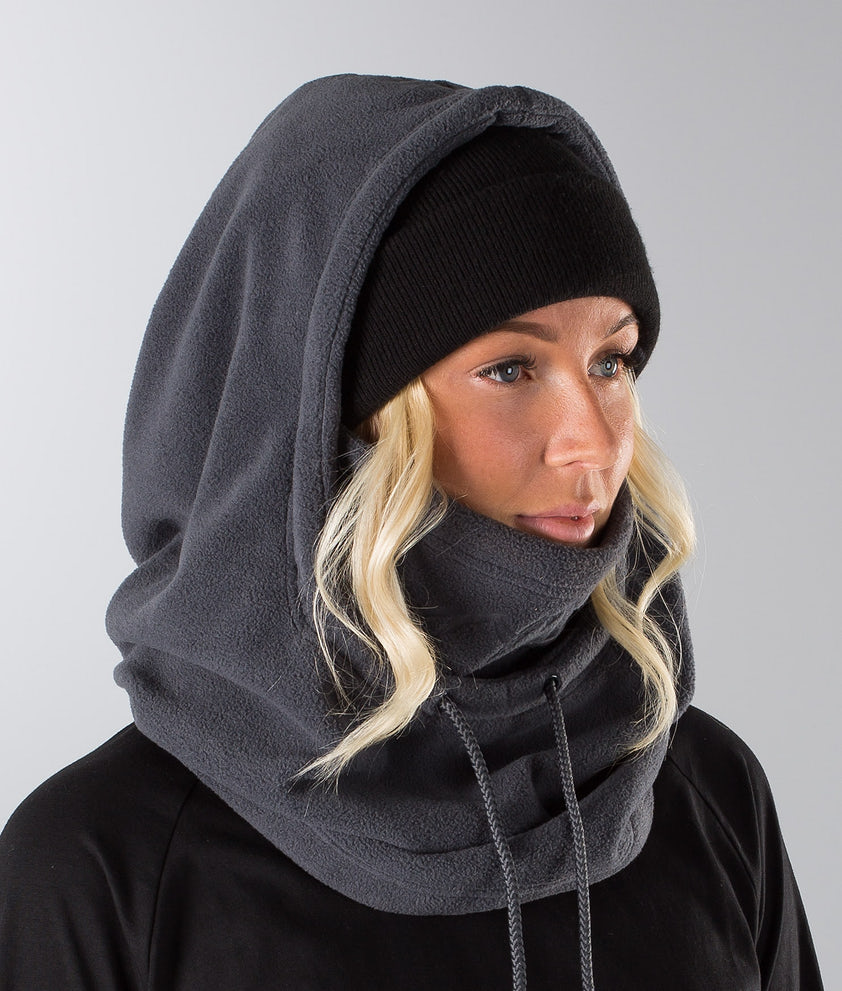 Dope Cozy Hood Ansiktsmasker Darkgrey