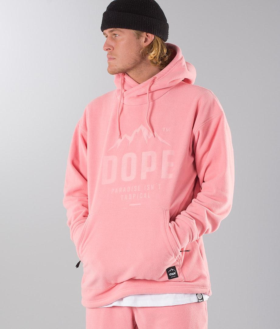 Dope Cozy Hood Pink