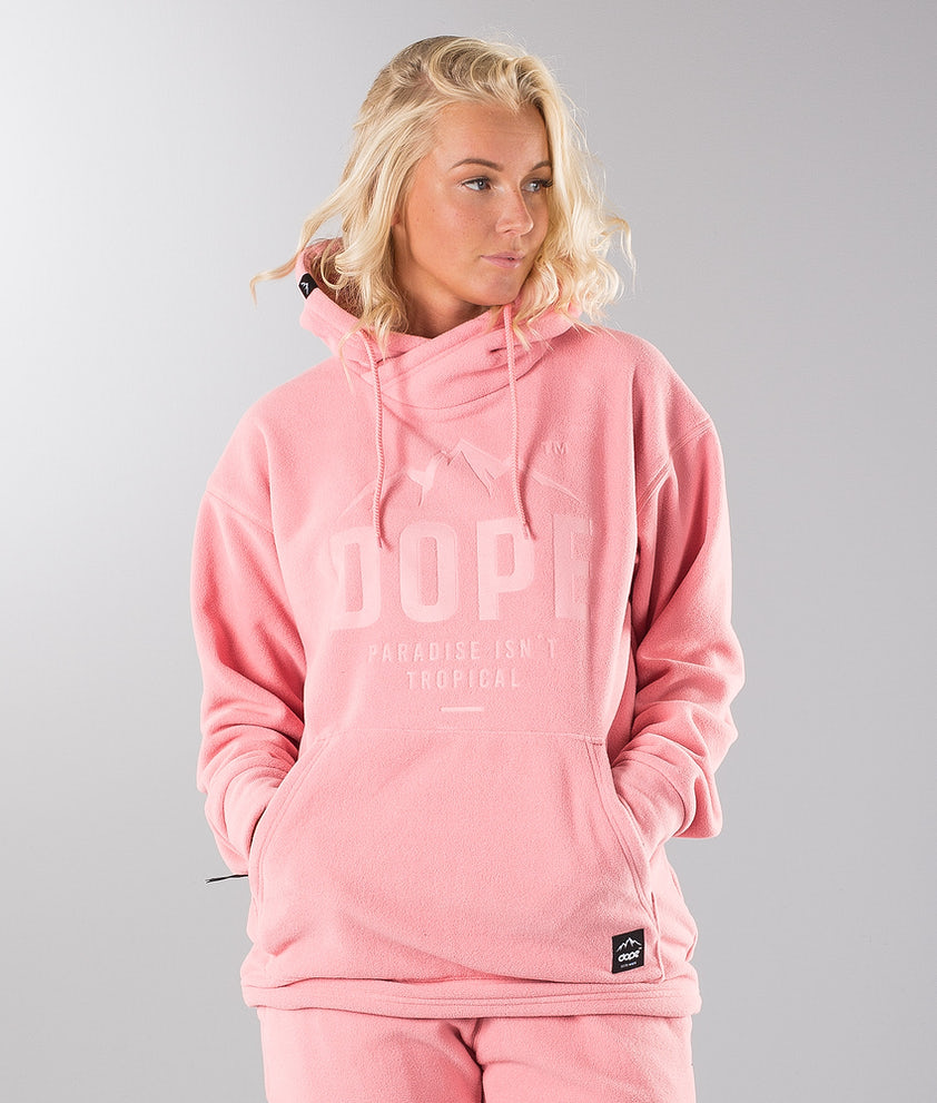 Dope Cozy Snow Sweater Pink