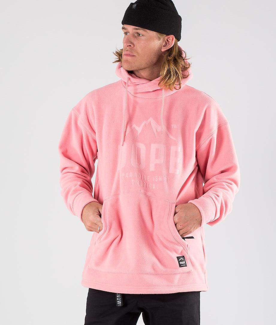 Dope Cozy Snow Sweater Pink