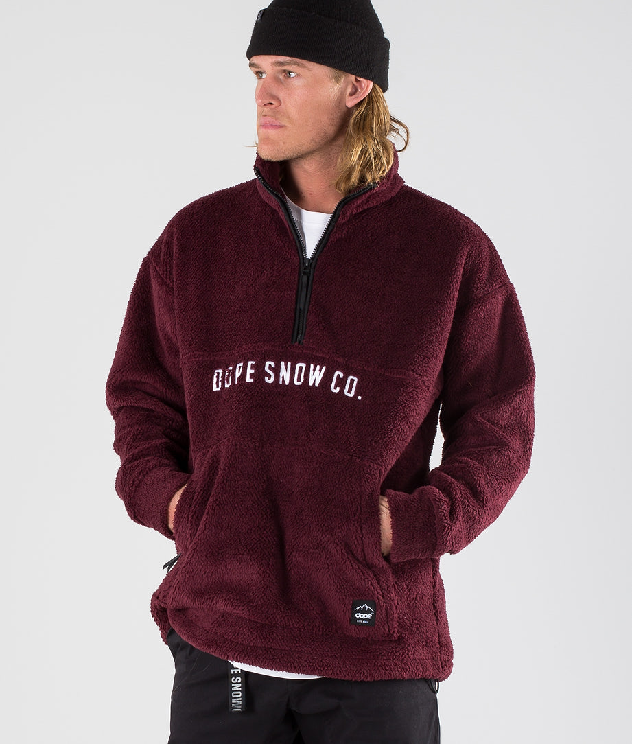 Dope Pile Snow Sweater Burgundy