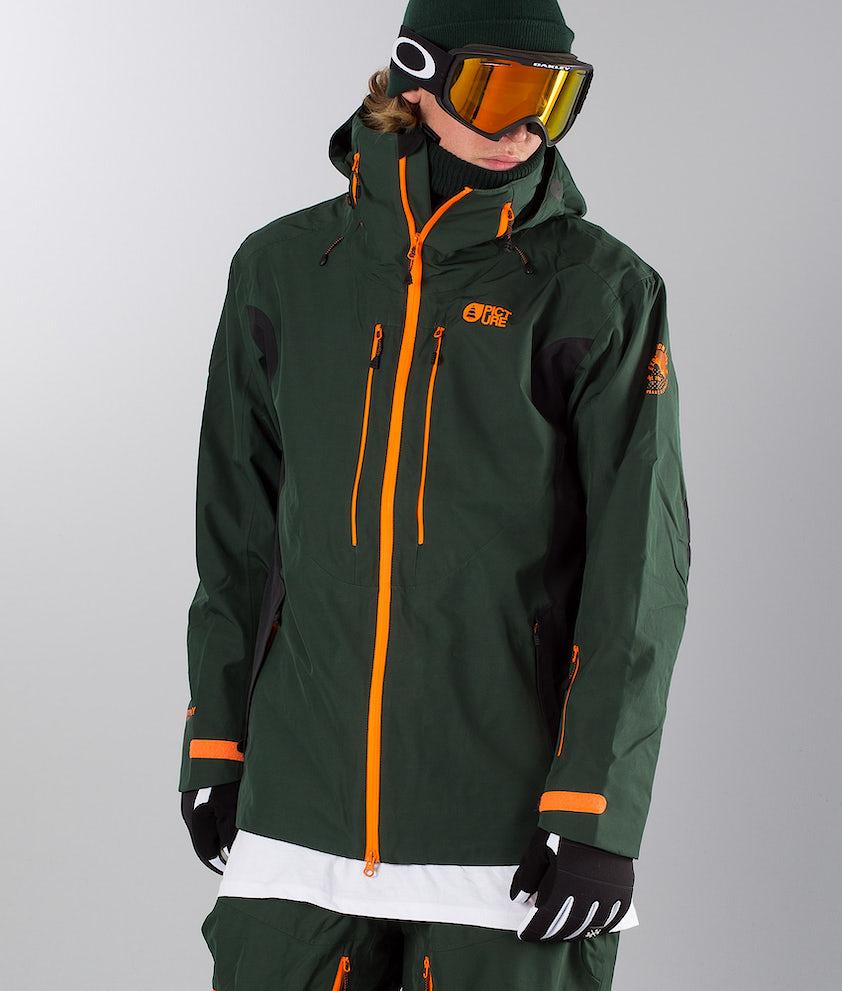 Picture Track Ski Jacket Dark Green