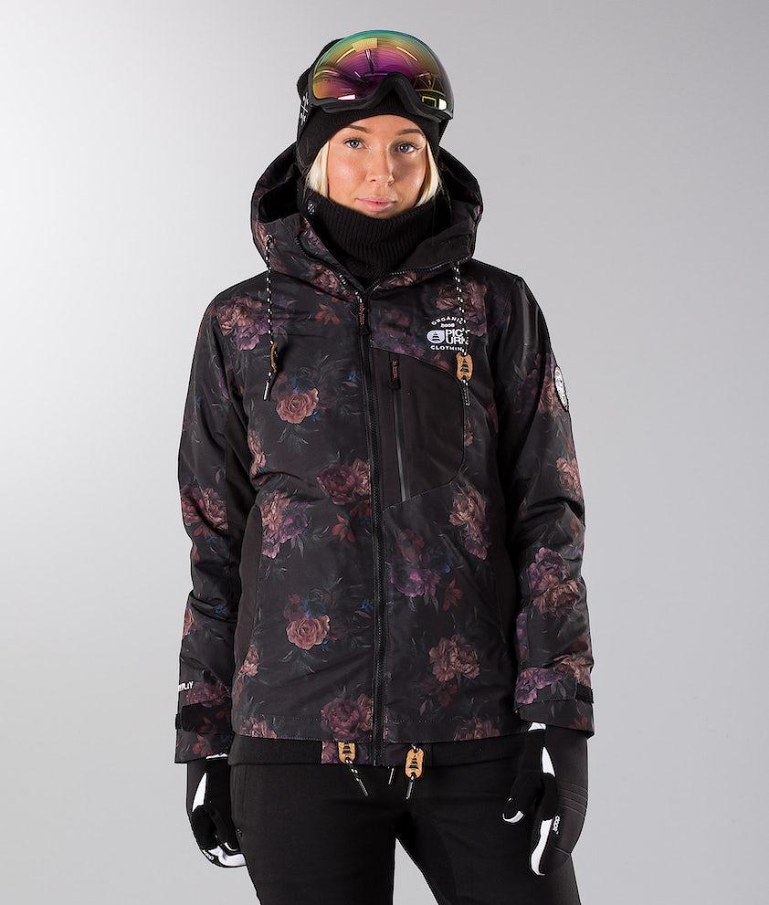 Picture Milk Snowboard Jacket Flower Print