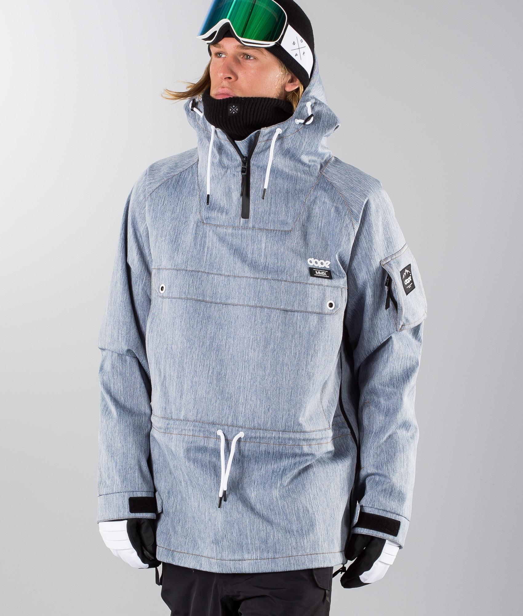 dope snow jacke mit jeans