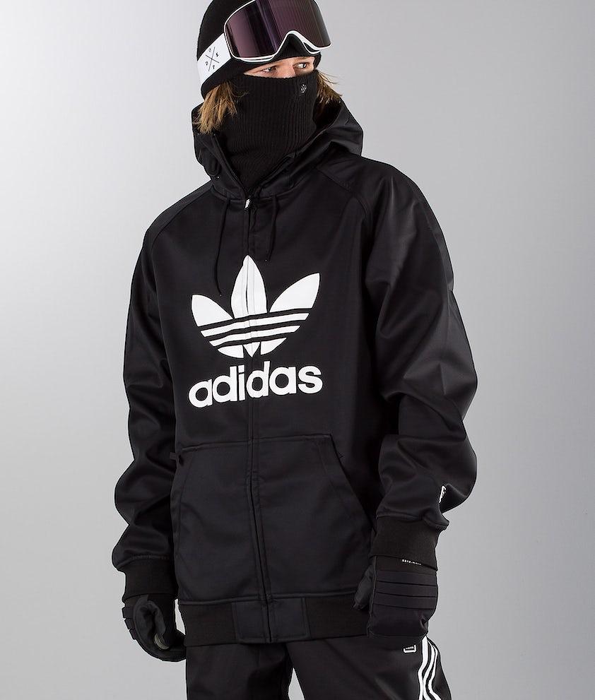 Adidas Snowboarding Greeley Snowboardjakke Black/White