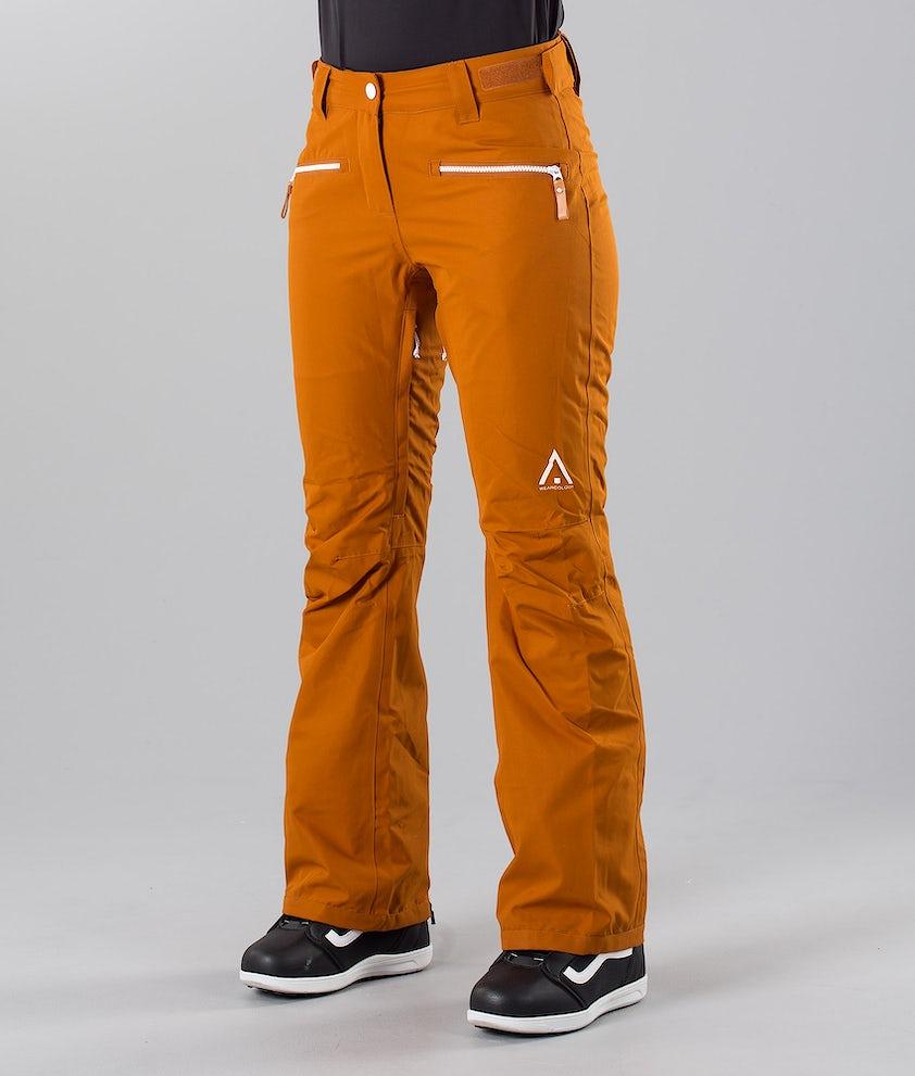 WearColour Cork Pantalon de Snowboard Adobe