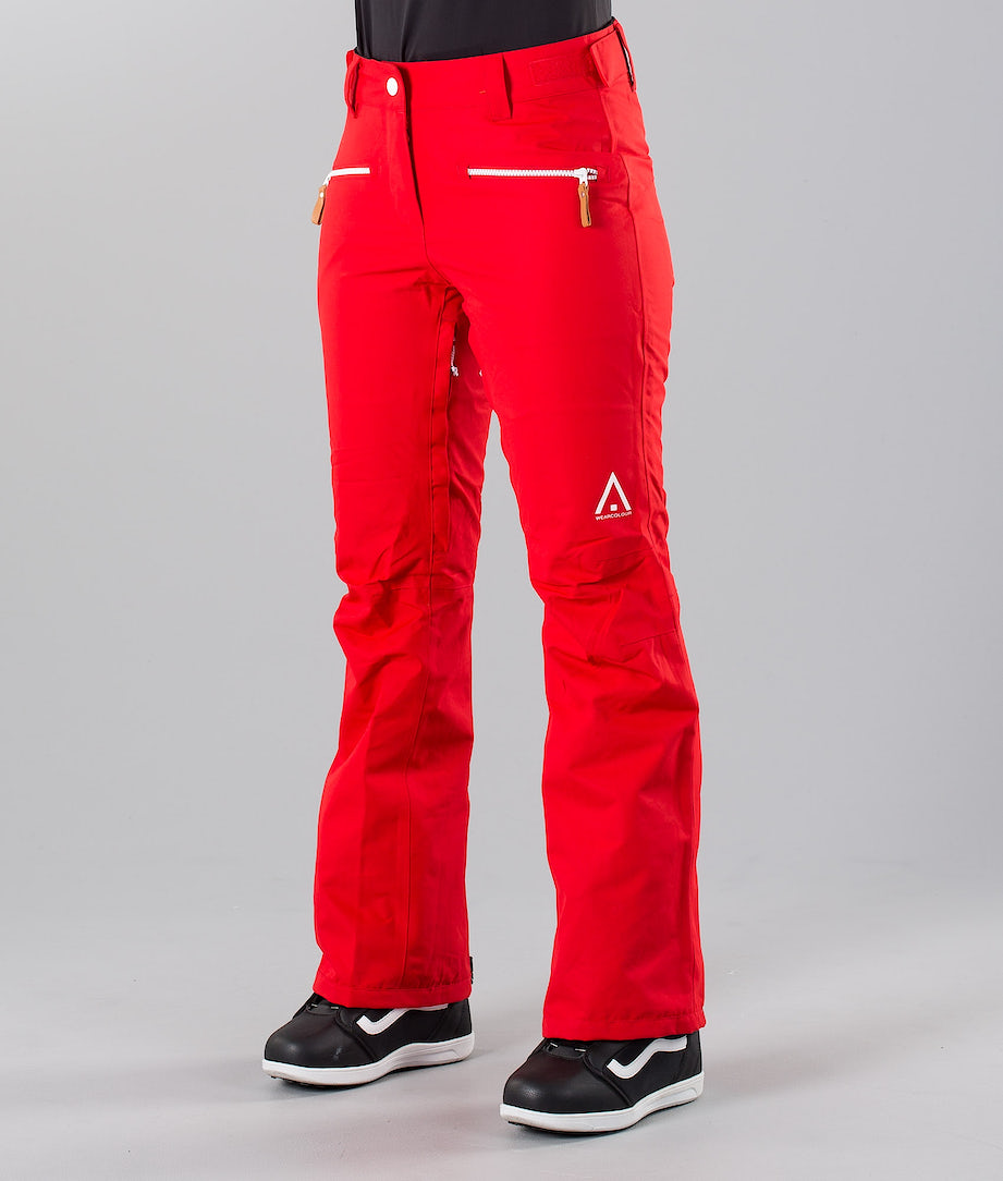 WearColour Cork Snow Pants Red