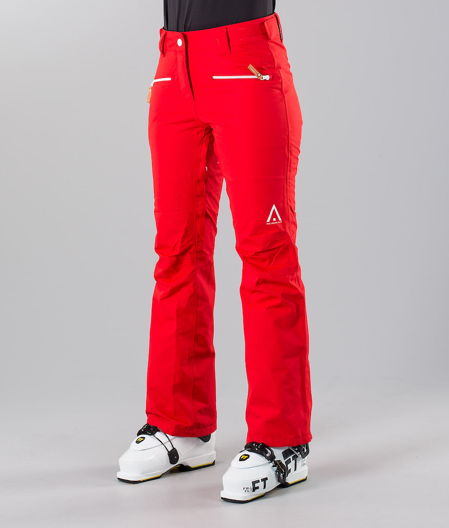 WearColour Cork Ski Pants Red