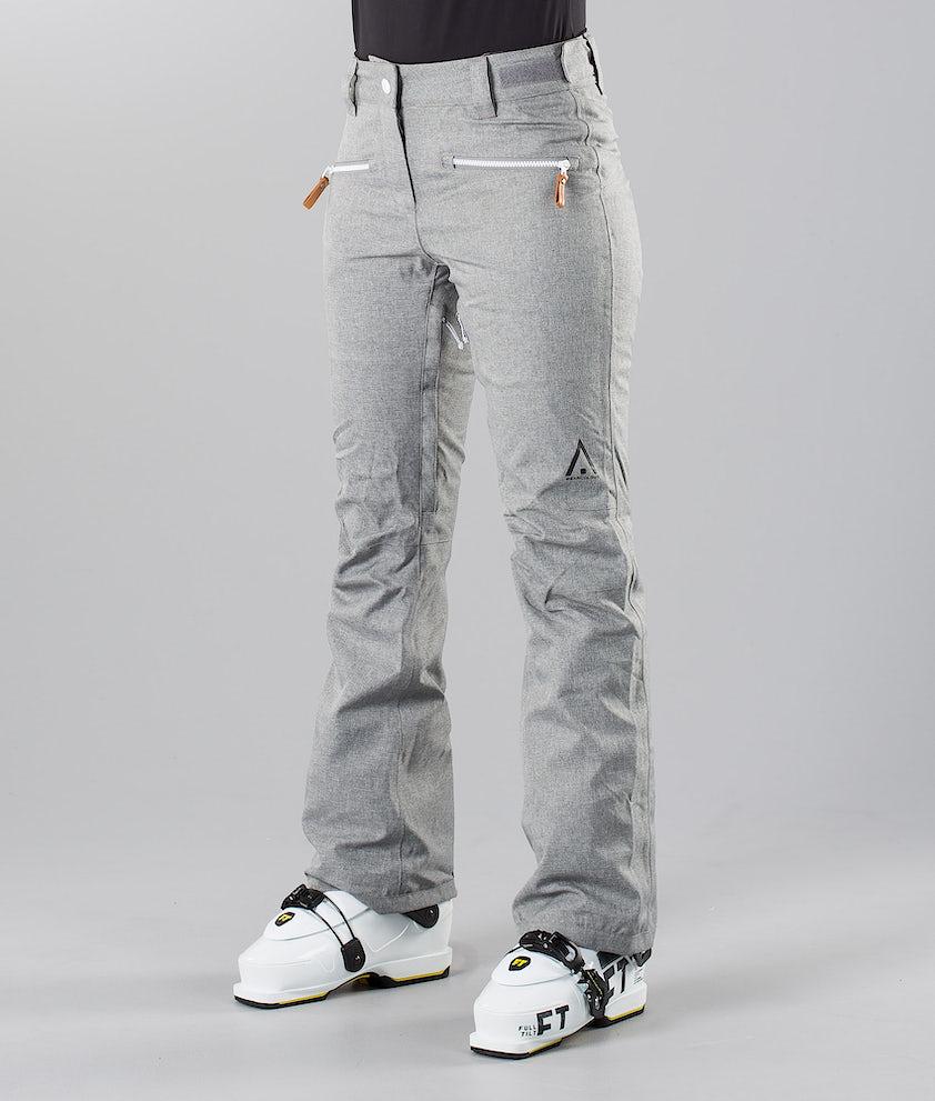 WearColour Cork Pantalon de Ski Grey Melange