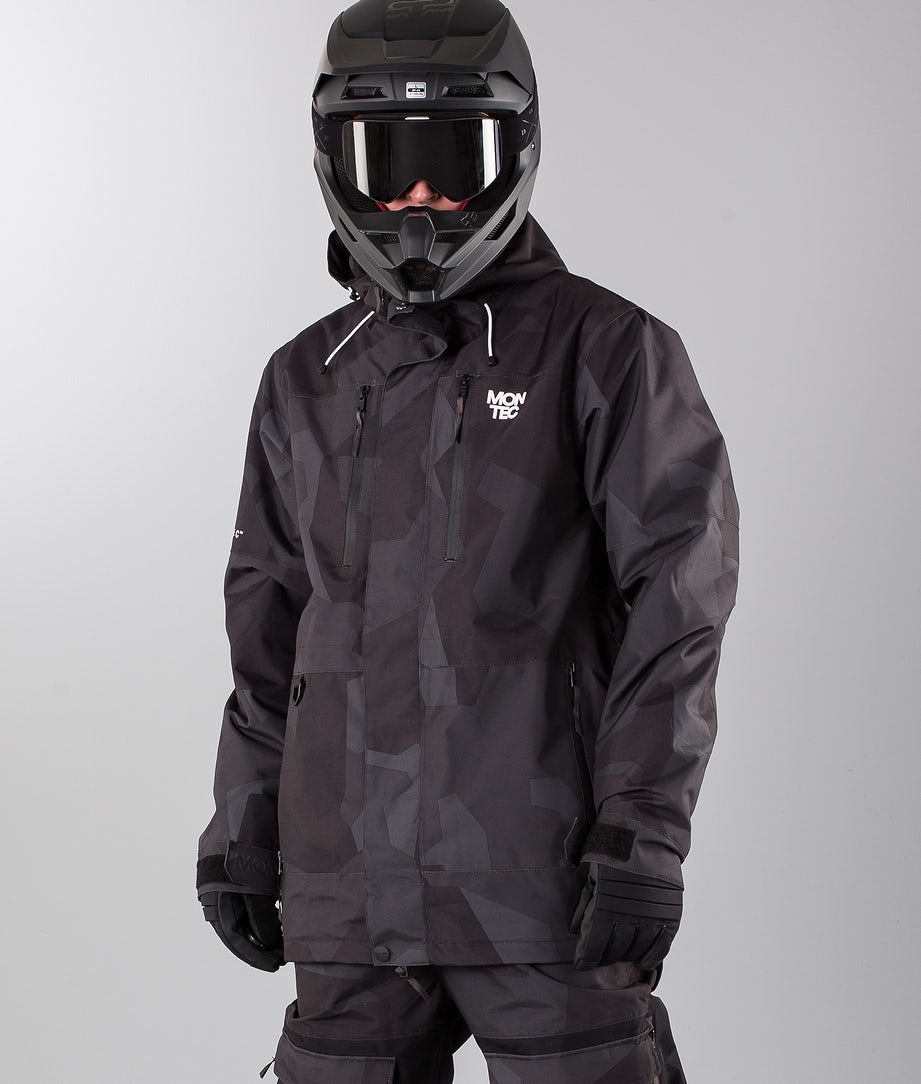 Montec Fawk Snowmobile Jacket Night Camo
