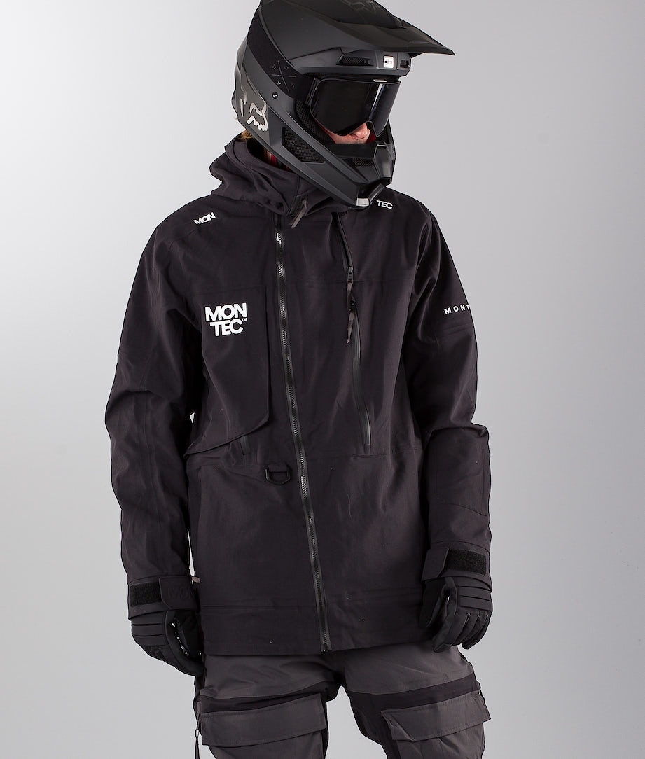 Montec Mount Snowmobile Jacket Black