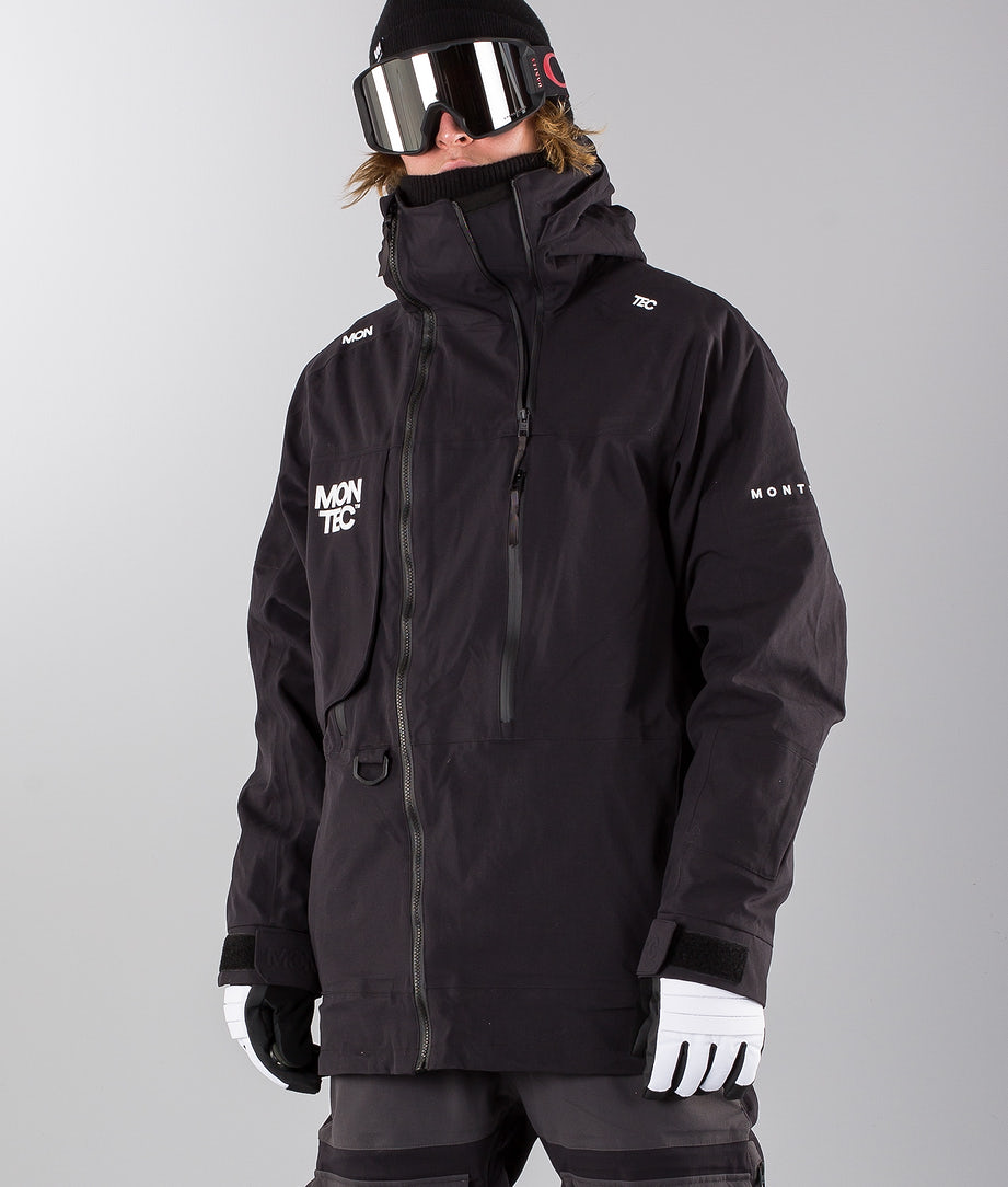 Montec Mount Skijakke Black