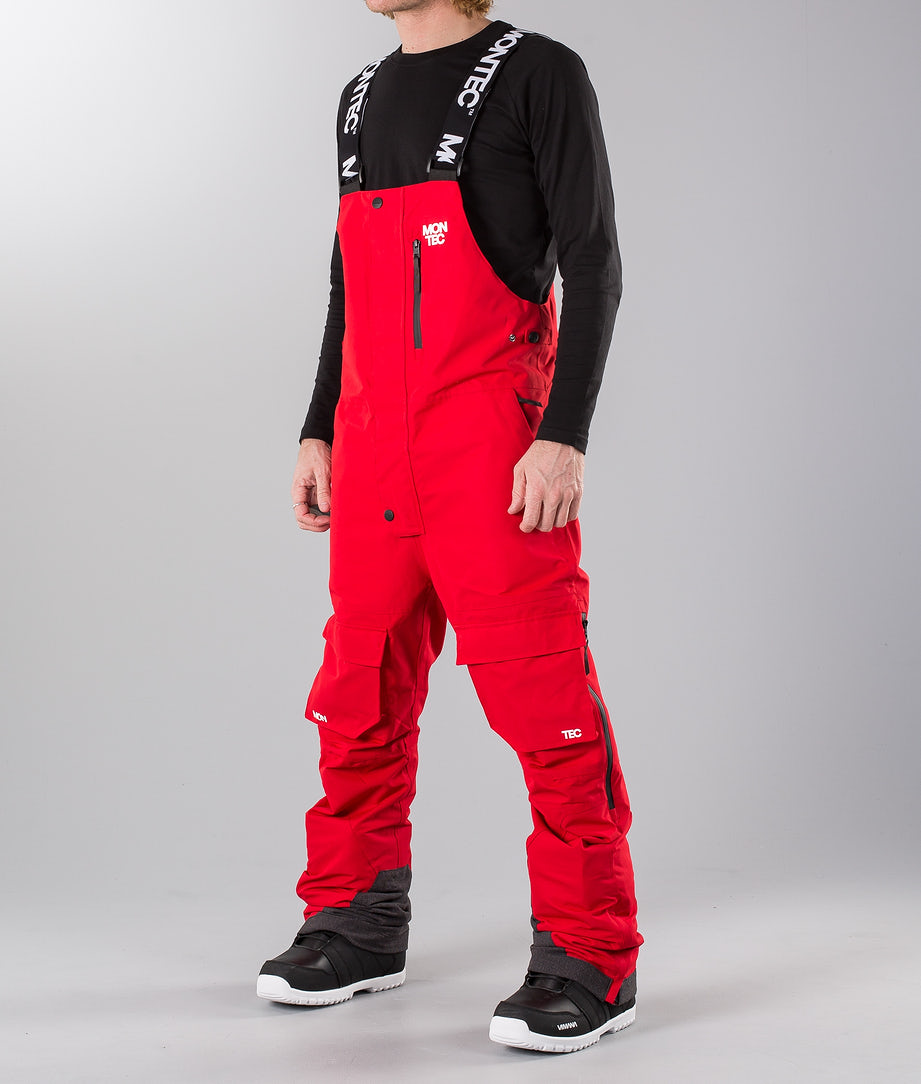 Montec Fawk Snowmobile Pant Red