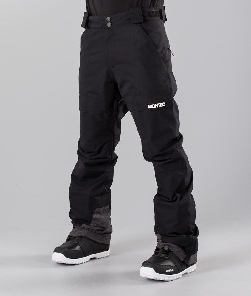 Montec Dune Snowmobile Pant Black
