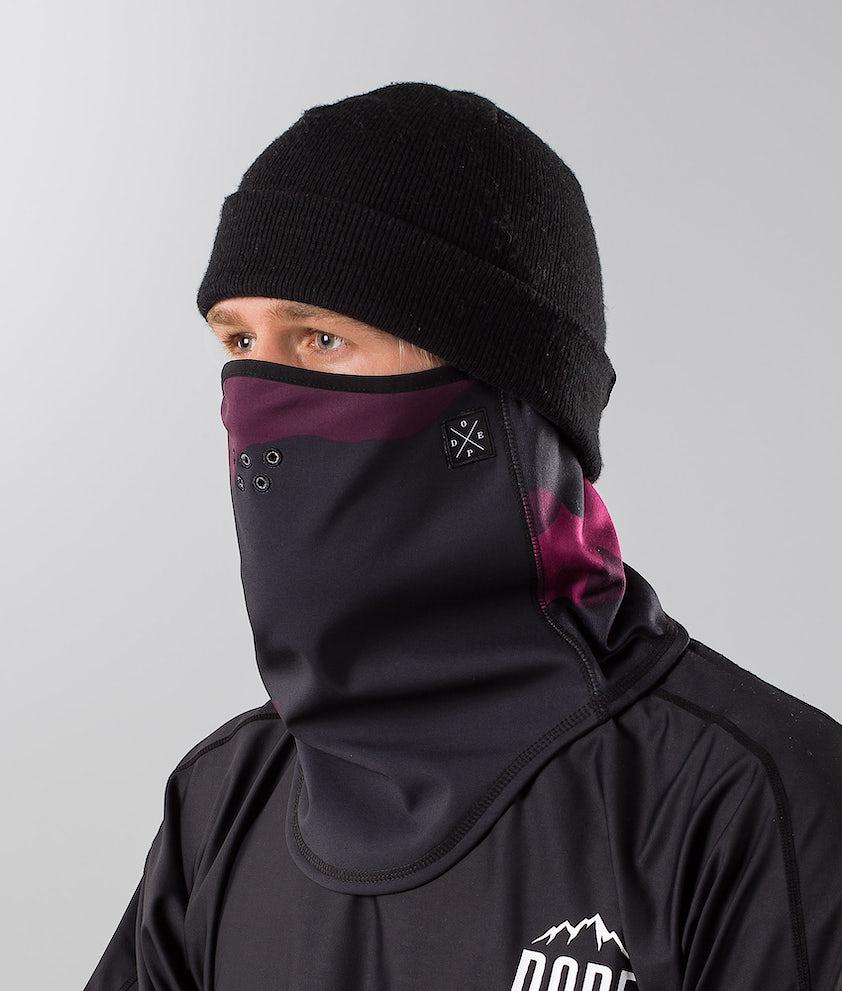 Dope Stanton Ansiktsmask Purple Camo