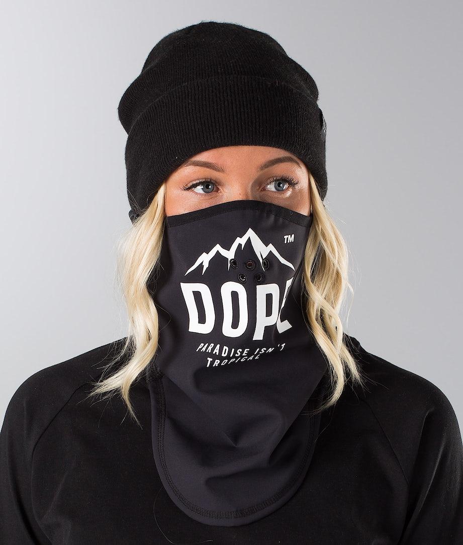 Dope Paradise Skimaske Black/ White