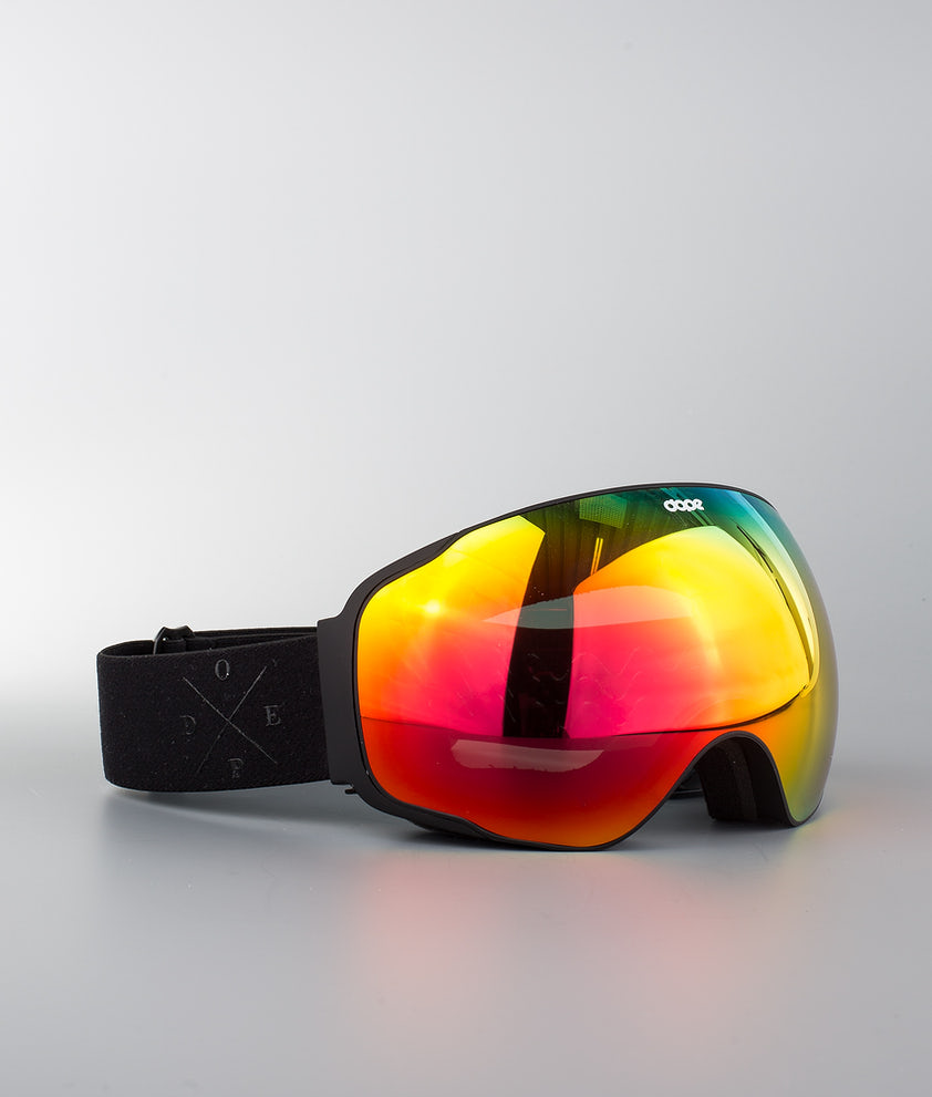 Dope Sphere 2X-UP Ski Goggle Pitch Black