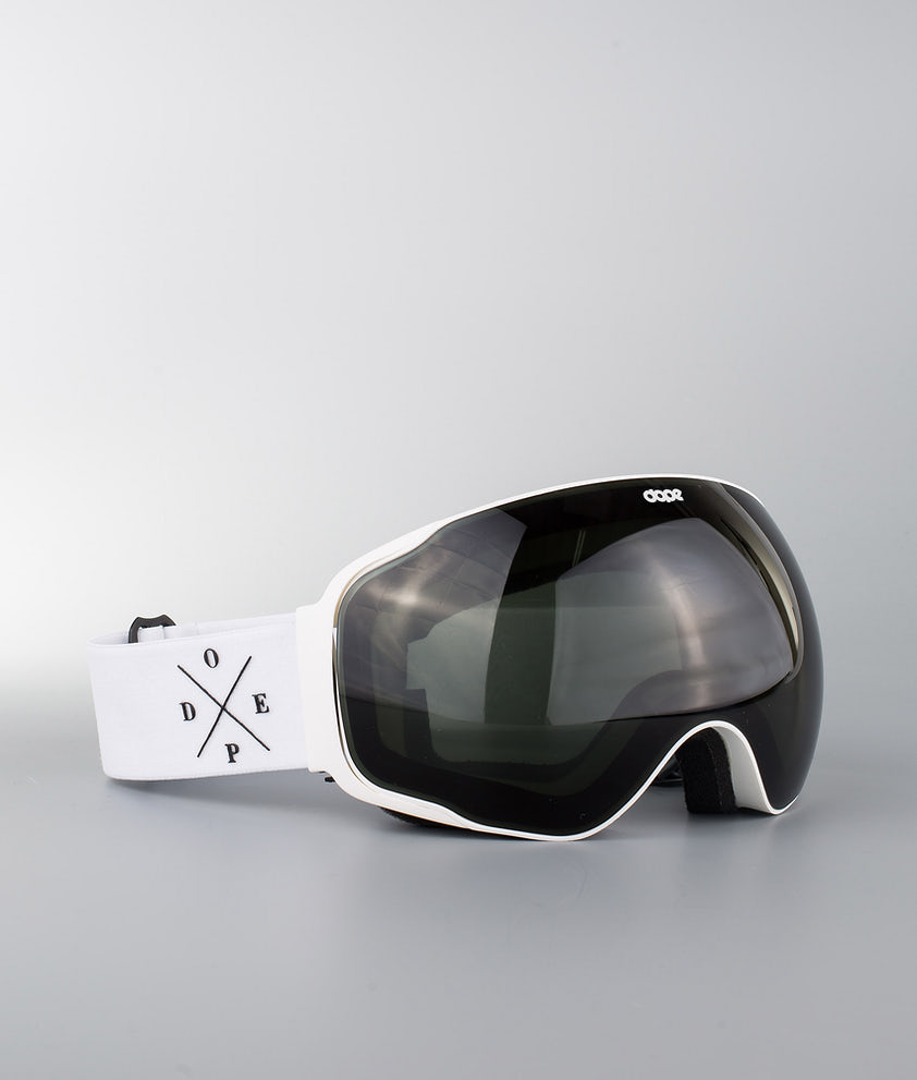 Dope Sphere 2X-UP Skibriller White W/White Black