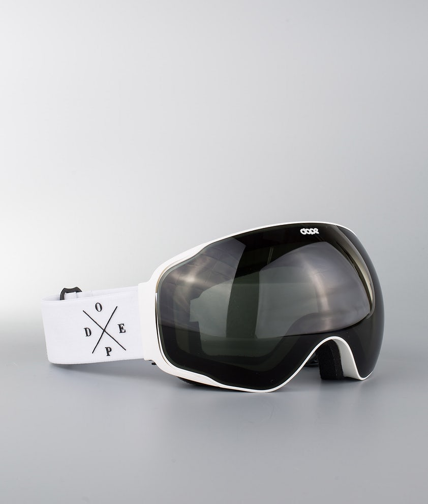 Dope Sphere 2X-UP Skibrille White W/White Black