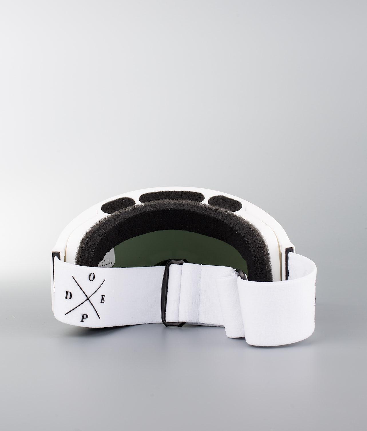 Dope Sphere 2X-UP Skibriller White W/White Black