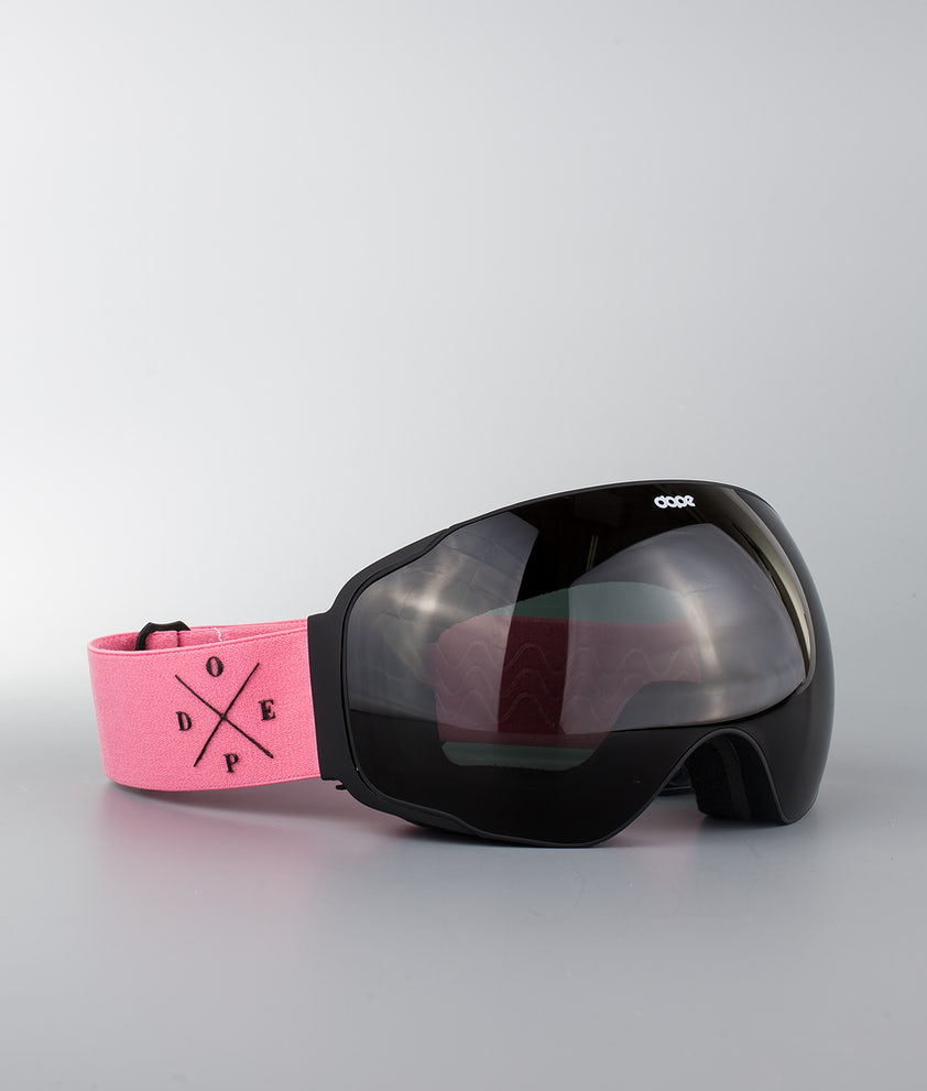 Dope Sphere 2X-UP Ski Goggle Black W/Pink Black
