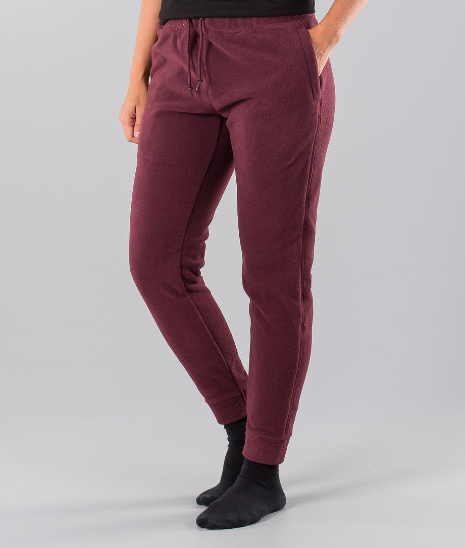 Dope Cozy Pants Burgundy