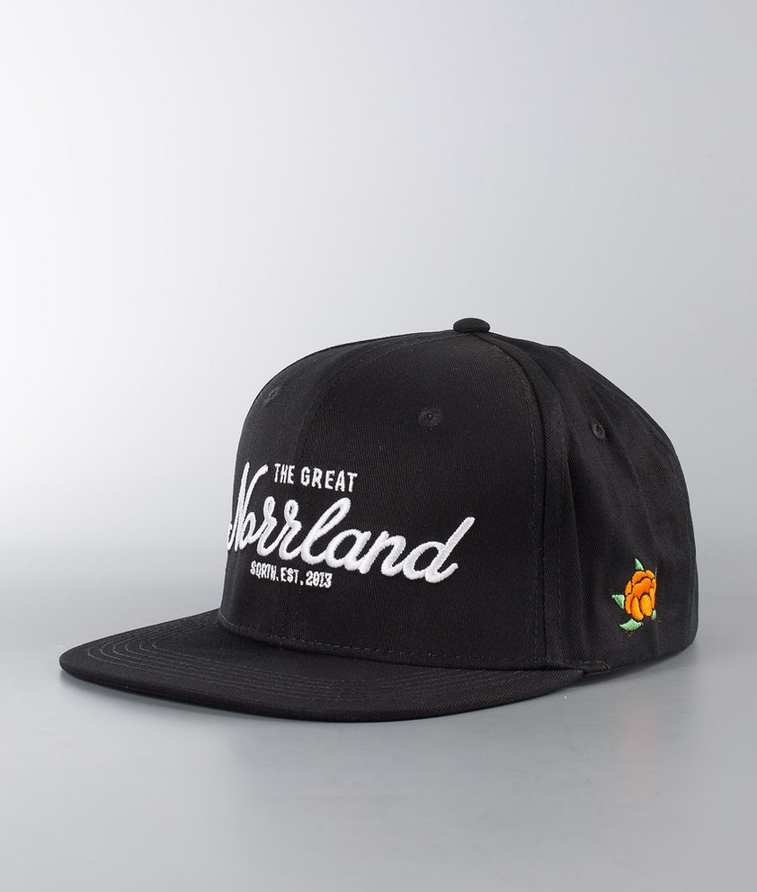 SQRTN Great Norrland Casquette Black