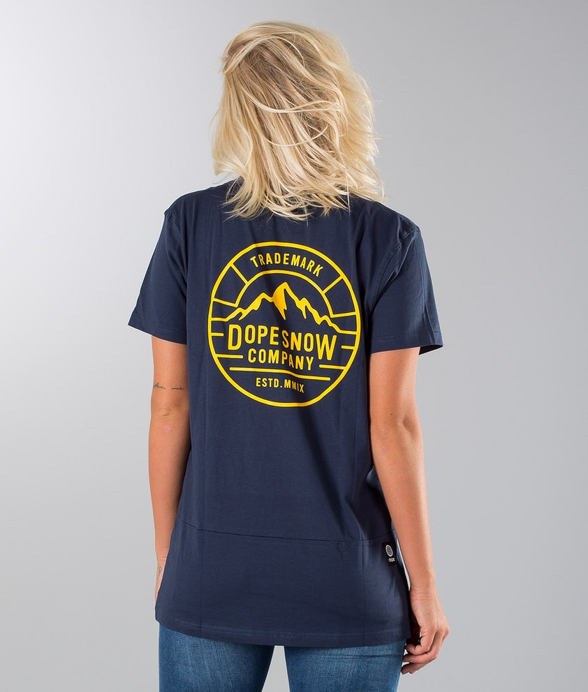 Dope Patch T-shirt Marine