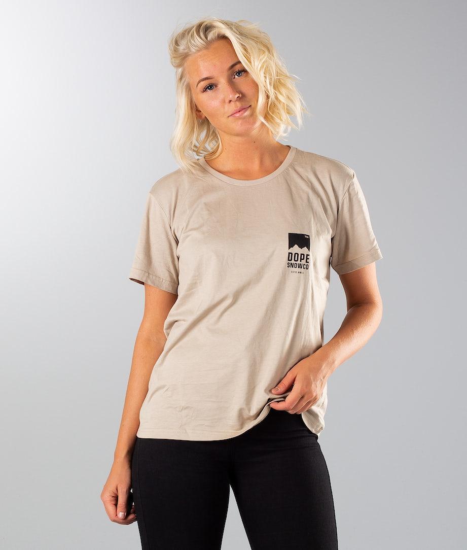Dope Grand Slim T-shirt Sand Black