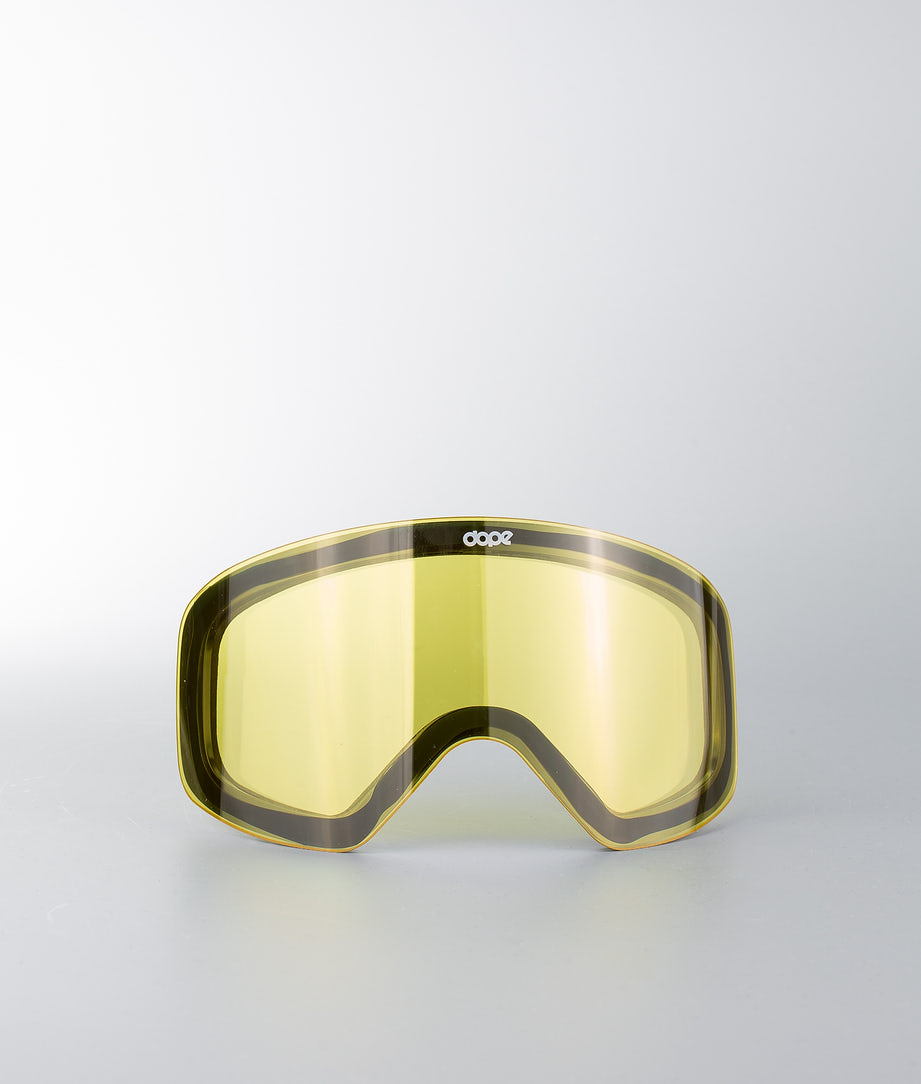 Dope Spare Lens Flush L Extralins Snow Yellow