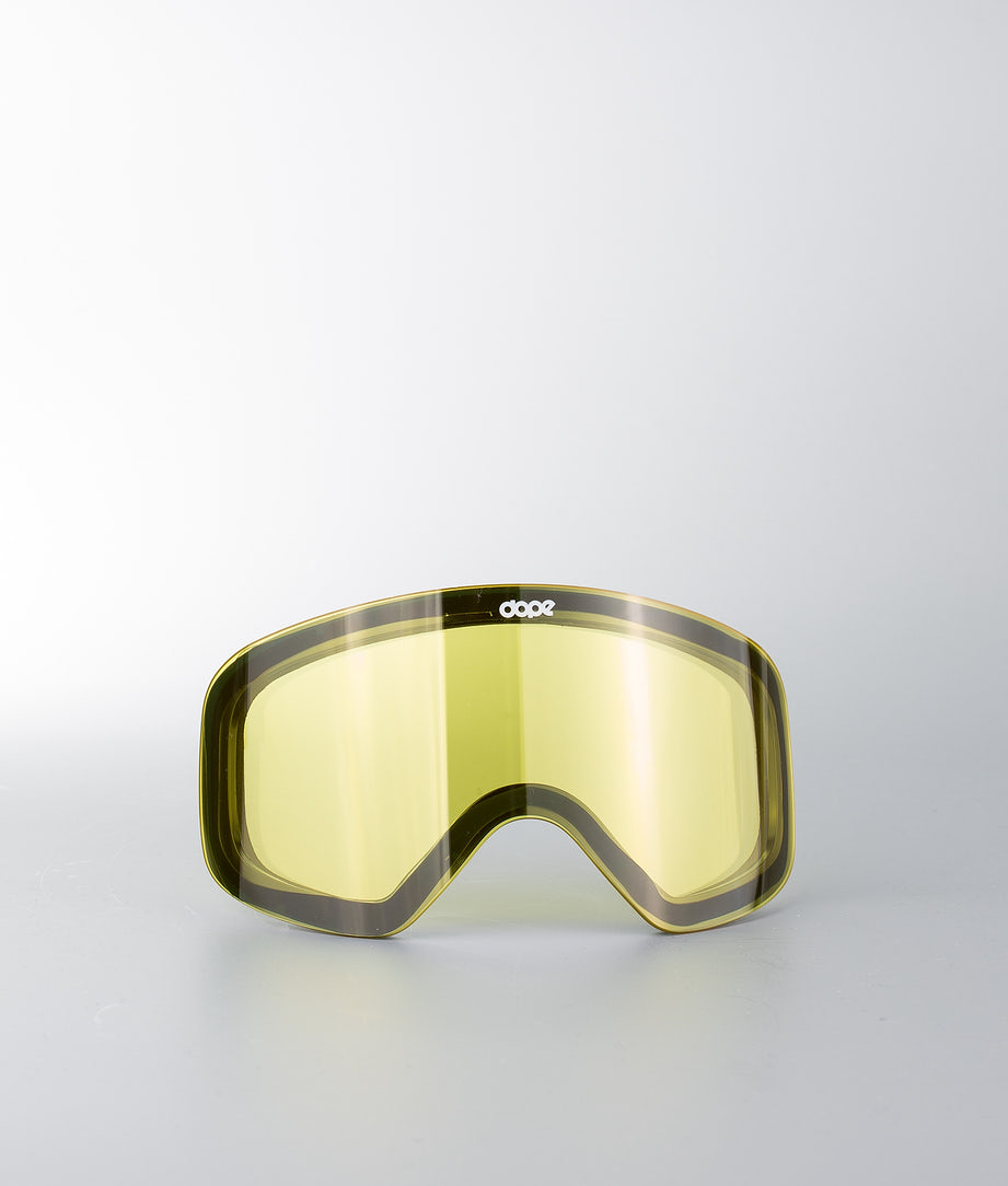 Dope Spare Lens Flush M Extralins Snow Yellow