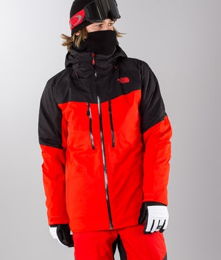 new style ad741 bfc38 The North Face Chakal Giacca da sci Red/Black