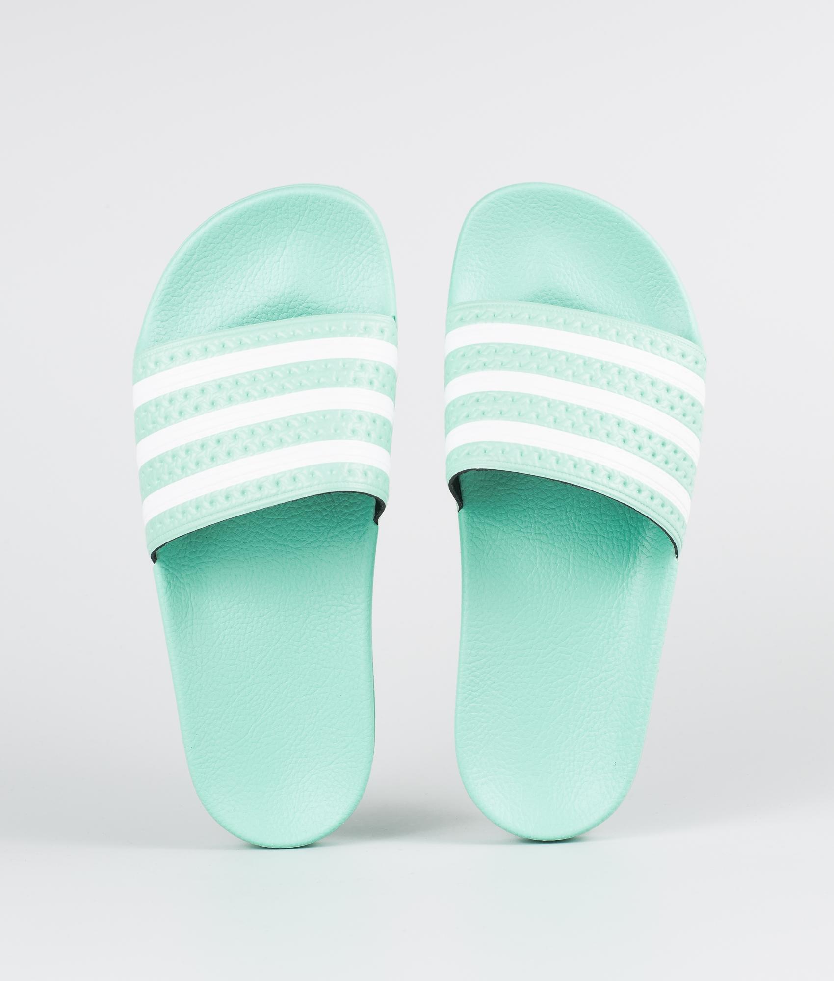 Adidas Originals Adilette Sandal Clear MintClear MintFtwr White