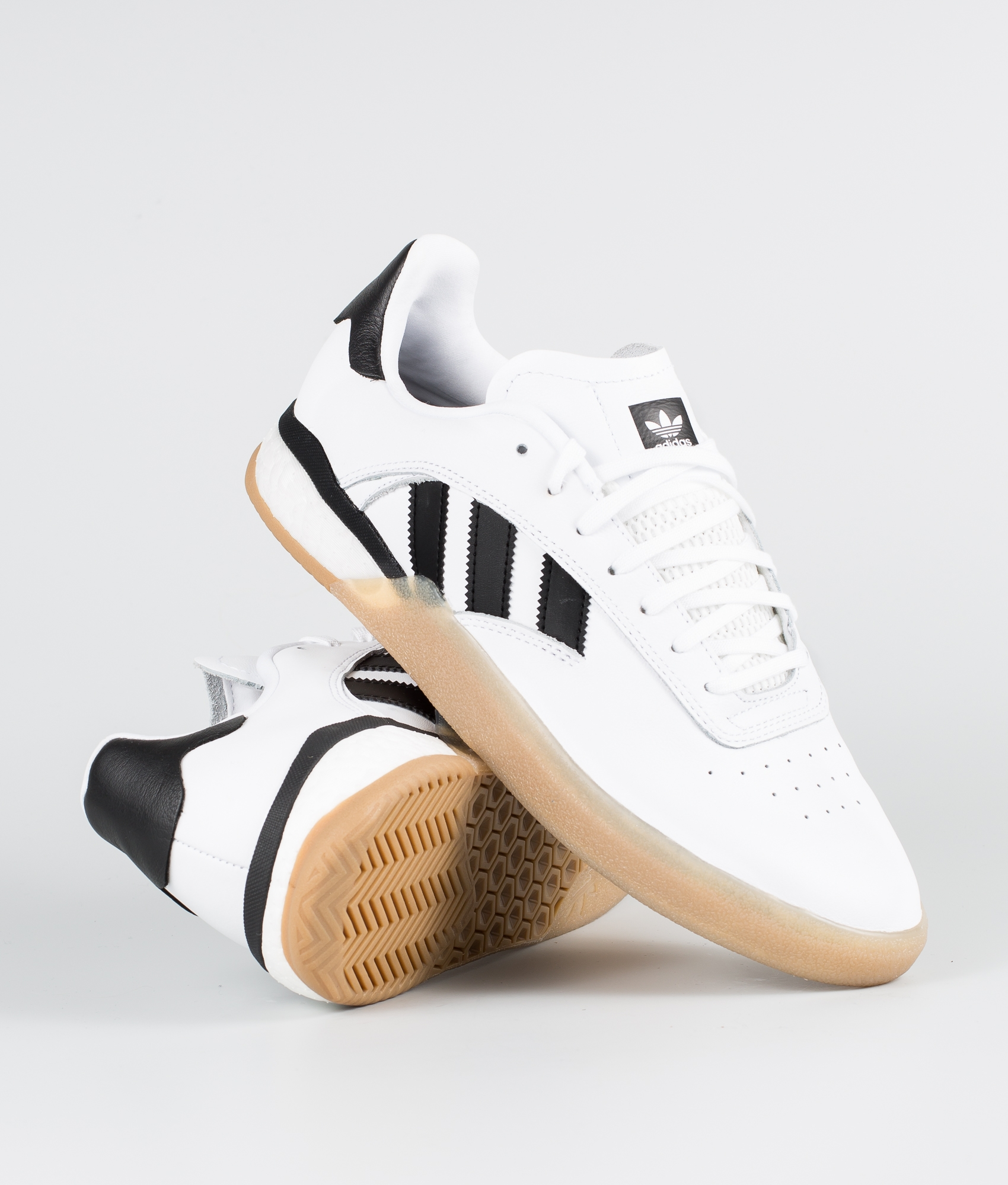 Adidas Skateboarding 3St.004 Schuhe Ftwr WhiteCore BlackGum4