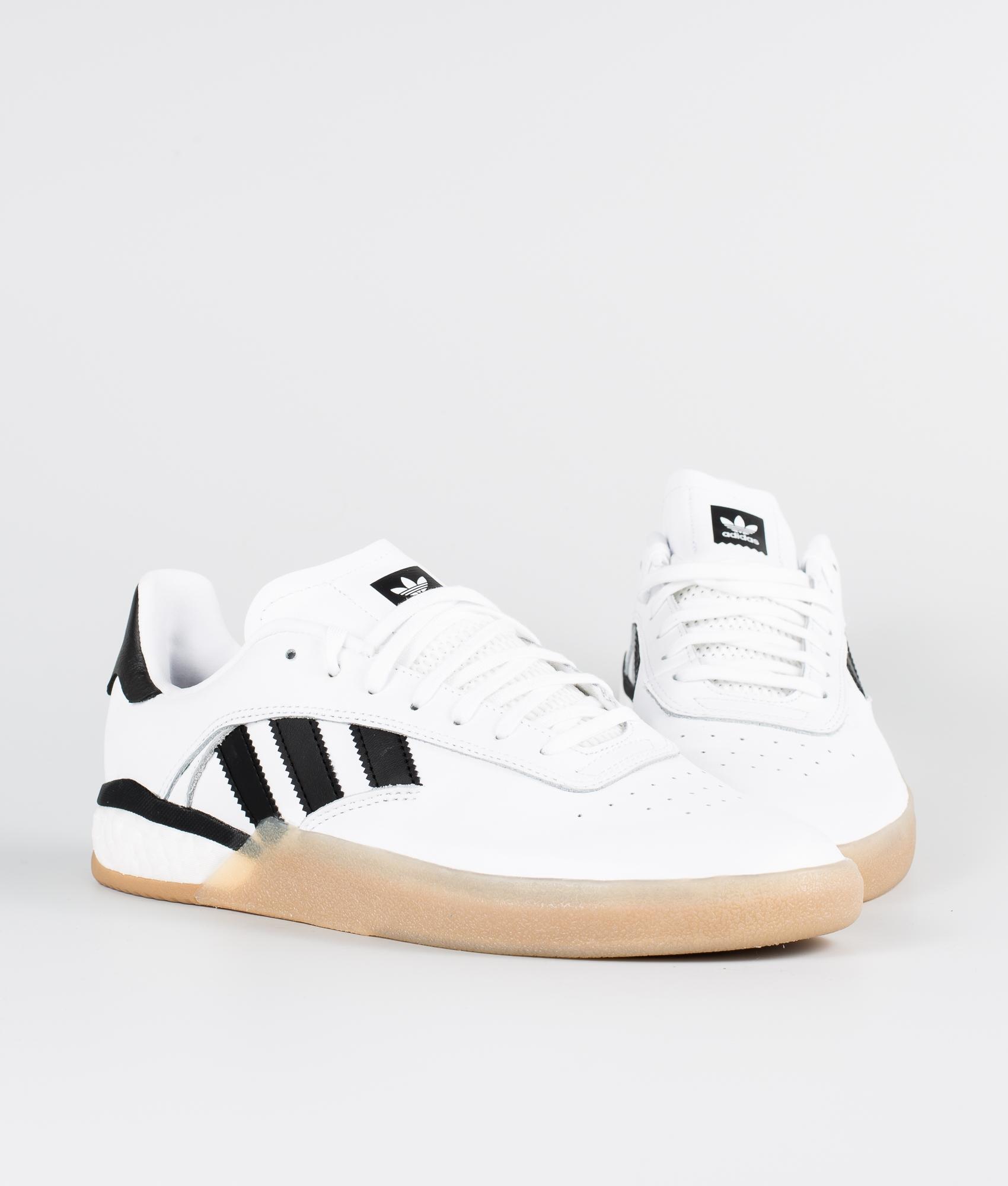 Adidas Skateboarding 3St.004 Sko Ftwr WhiteCore BlackGum4