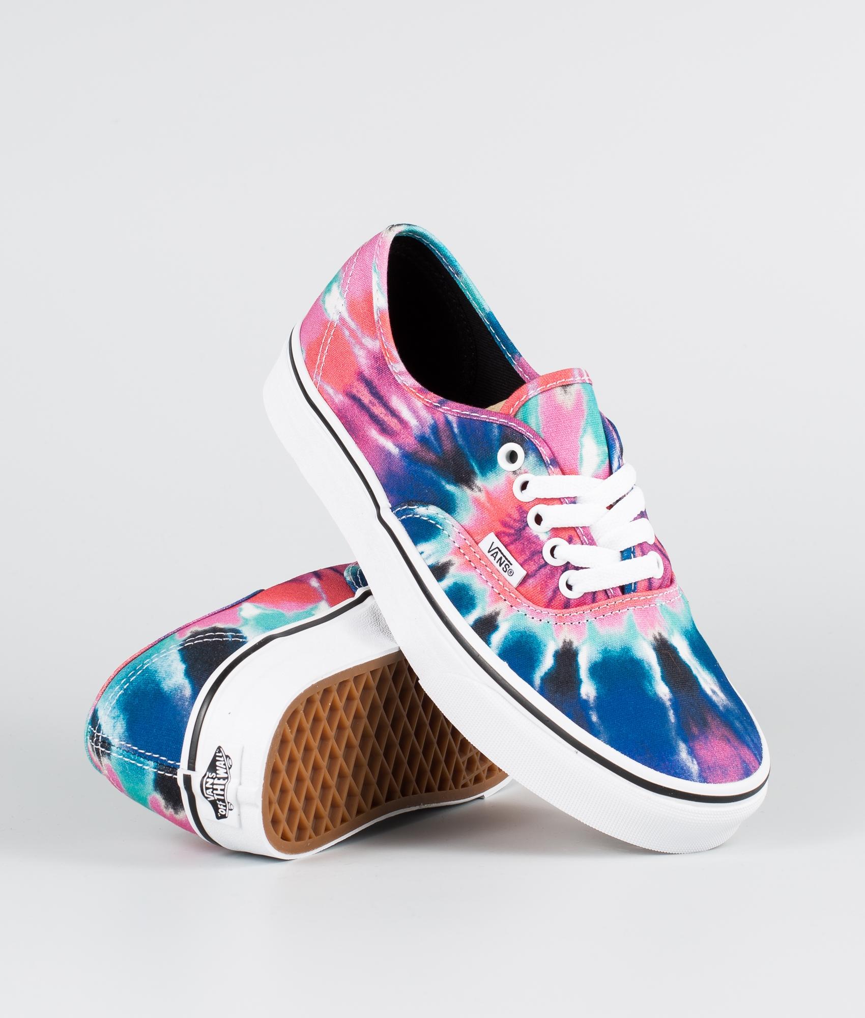 Vans Authentic Shoes (Tie Dye) Multi
