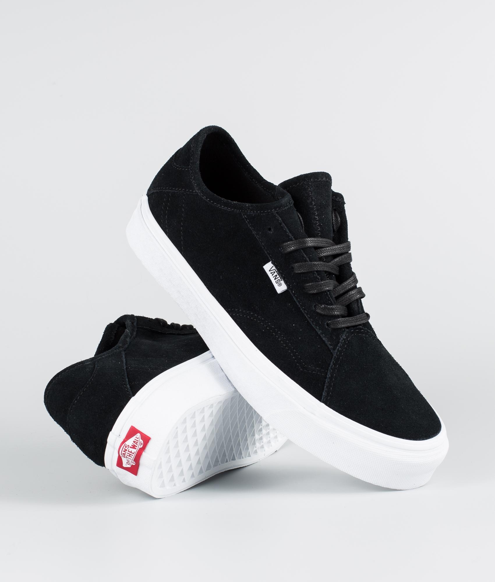 Vans Diamo Ni Shoes (Suede) Black/True