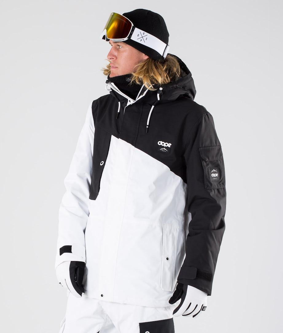 Dope Adept Ski Jacket Black/White