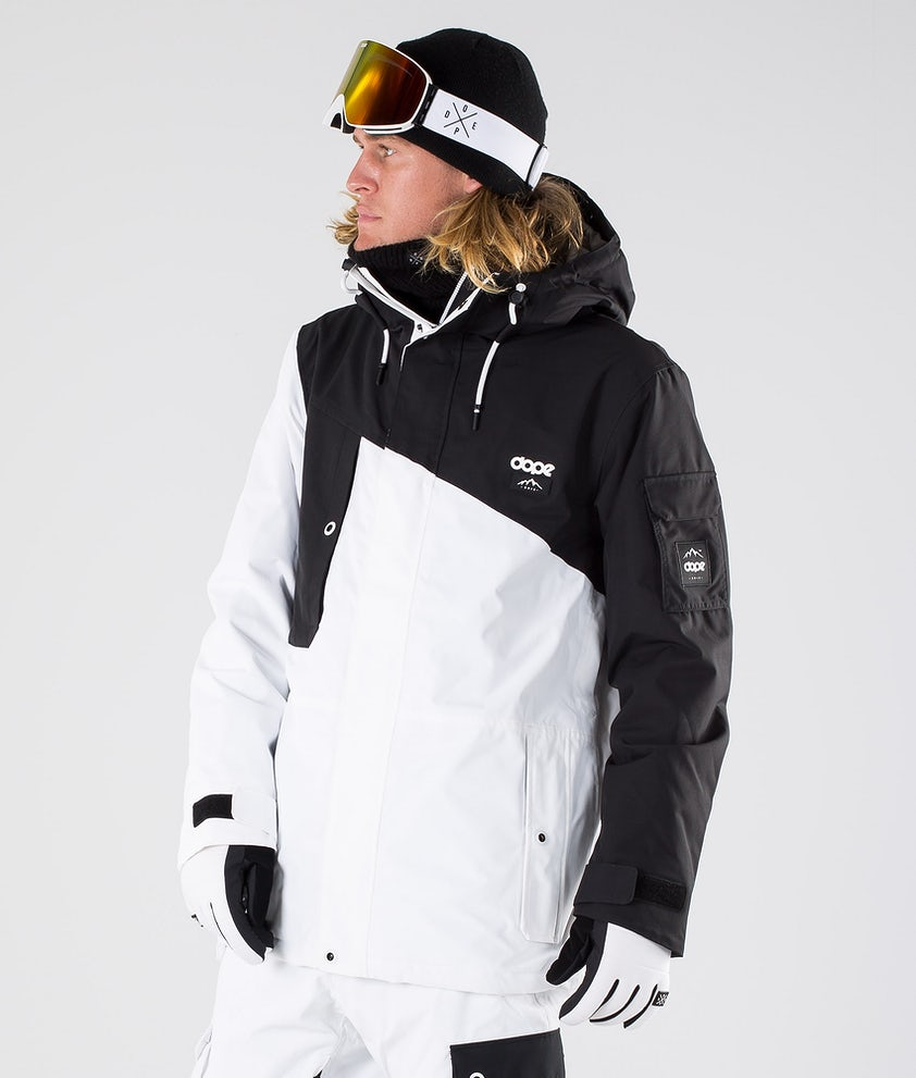 Dope Adept Ski Jacket Black/White