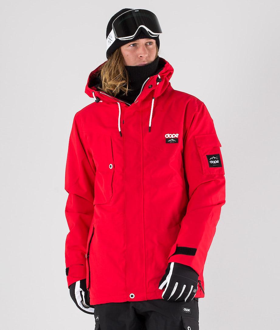 Dope Adept Ski Jacket Red