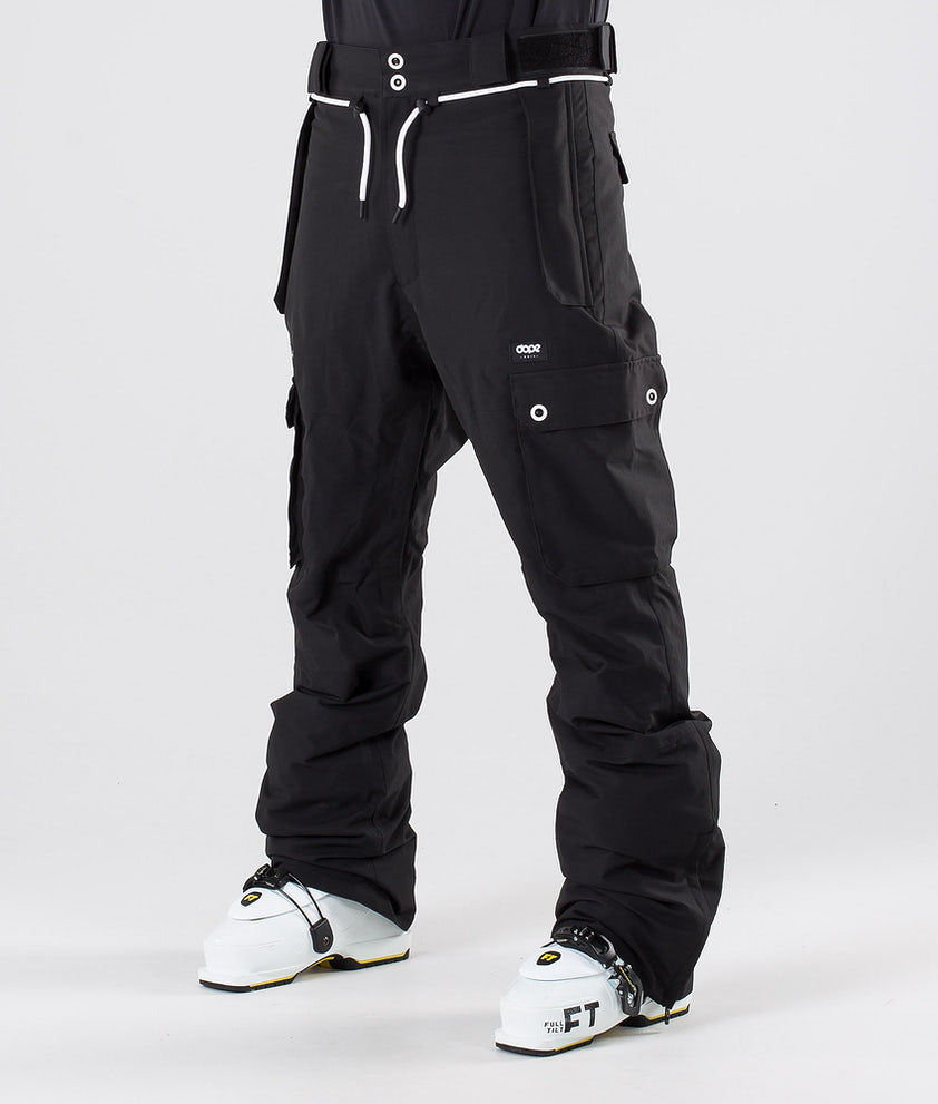 Dope Iconic Ski Pants Black