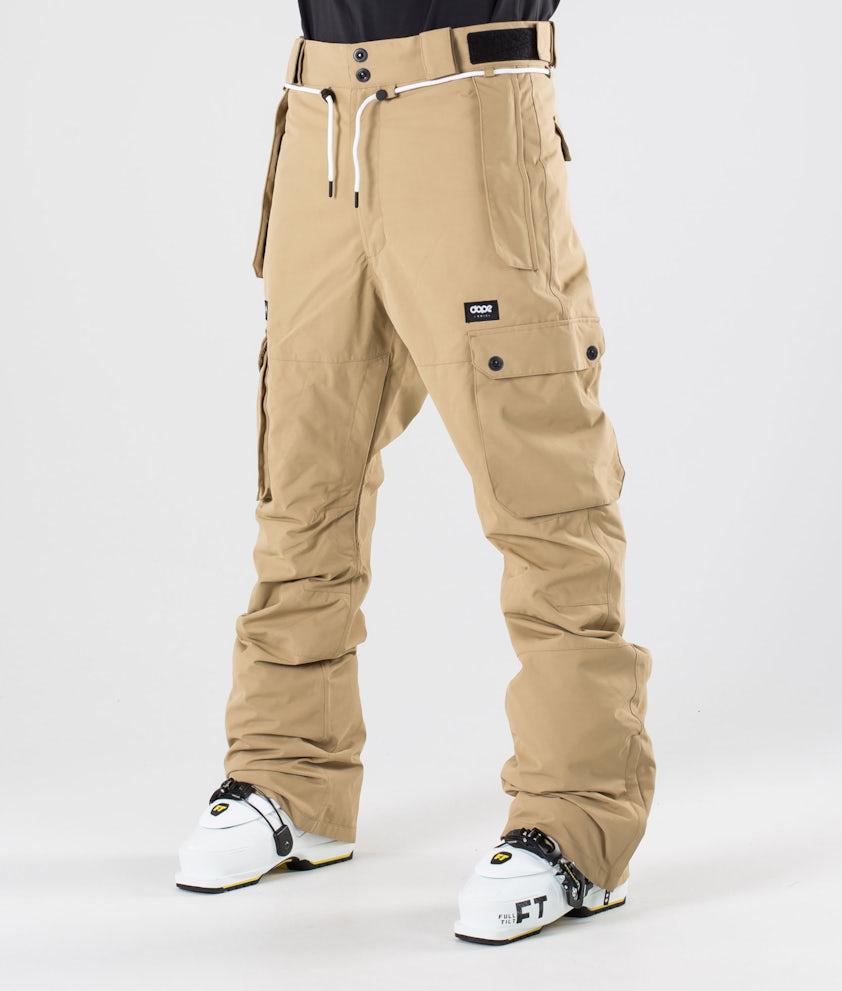 Dope Iconic Pantalon de Ski Khaki