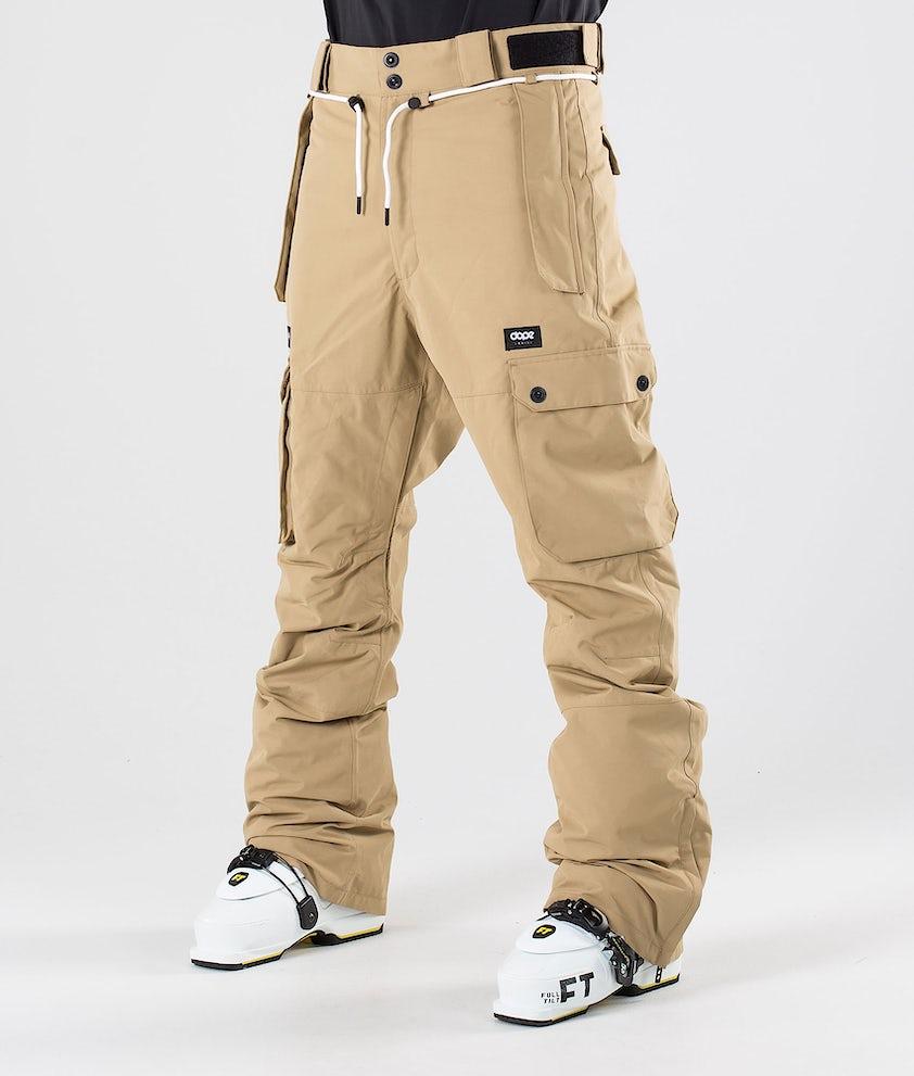 Dope Iconic Ski Pants Khaki