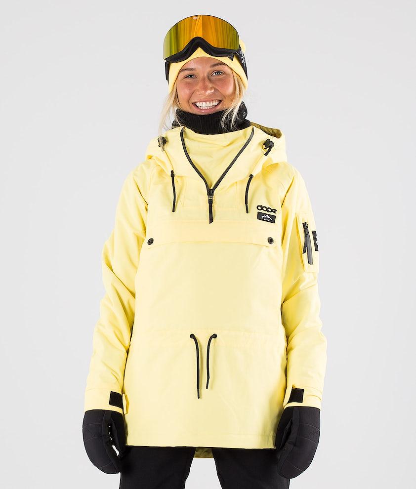 Dope Annok W Skijakke Yellow