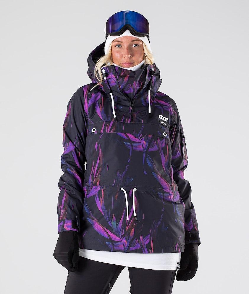Dope Annok W Skijacke Purple Foliage