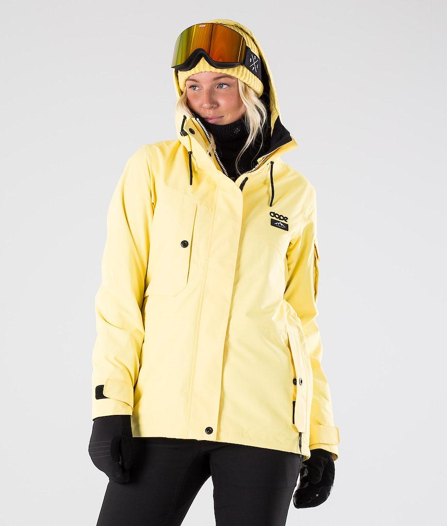 Dope Adept W Skijacke Yellow
