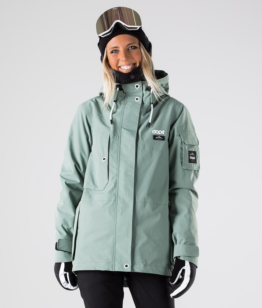 Dope Adept W Veste de Ski Faded Green